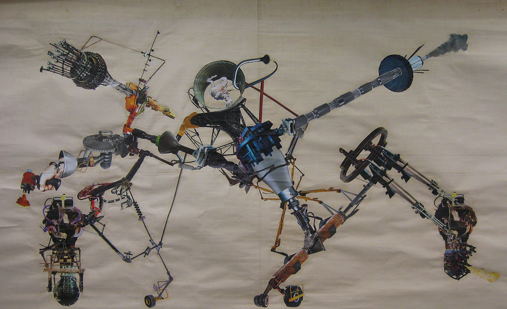 Peter Kädergård You Say I am Mean Like a Machine, But What Kind of Machine Do You Mean, #-8 (H:137 x B243 cm)